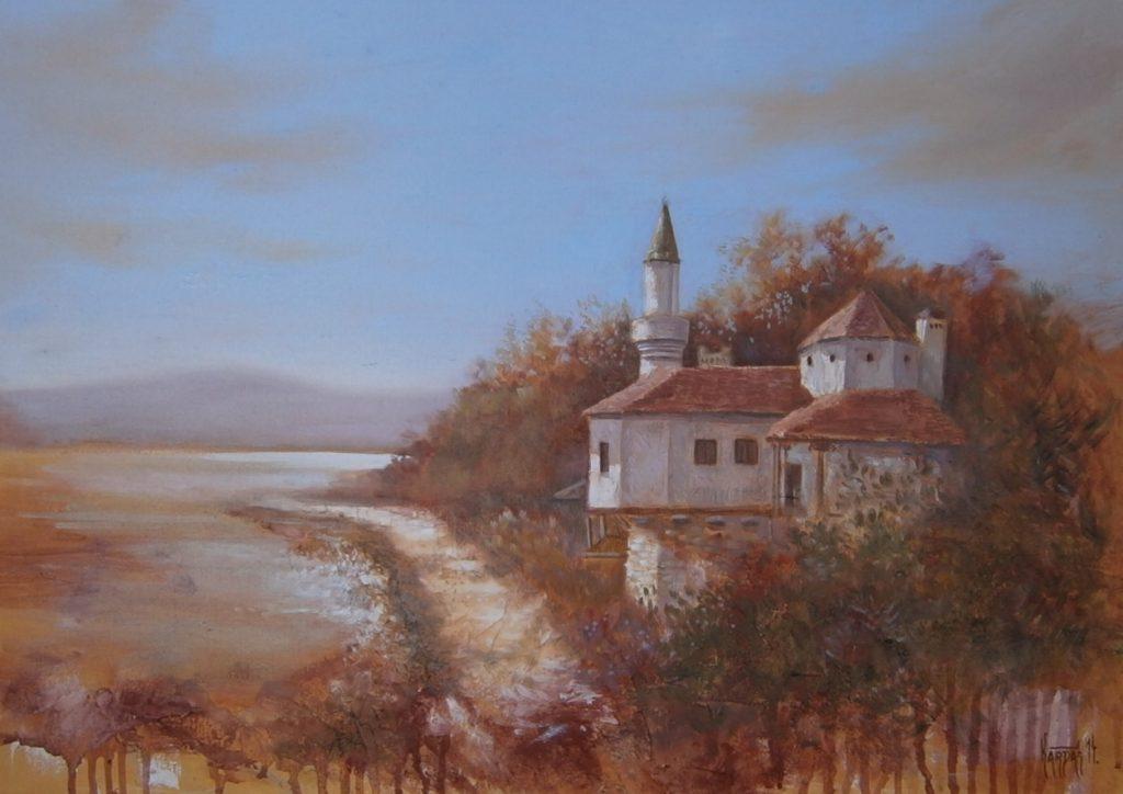 Impresija Balčika, ulje na platnu, 50x70