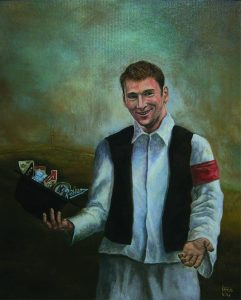 Portret Baneta Ivanovića, ulje na platnu 60x50