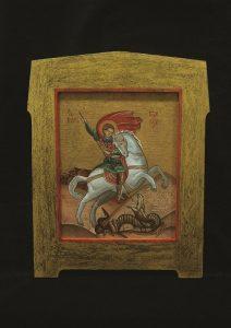 Sveti Đorđe, ulje na platnu 20x15